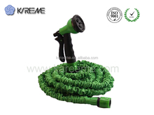 25ft 50ft green garden expanding hot sales magic hose with fabric sleeve