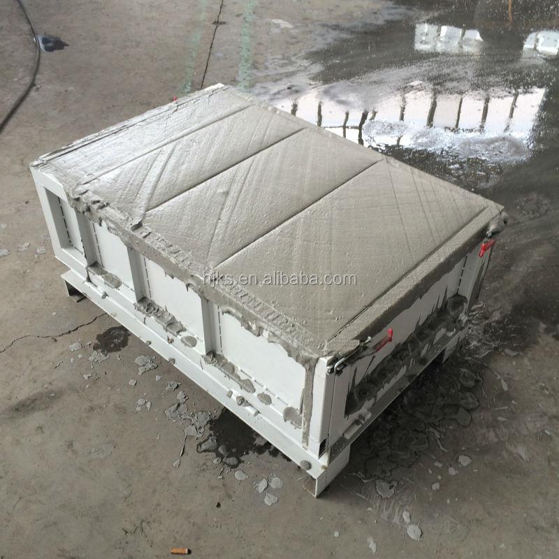 Clc special foam concrete block mould 2015new foam for Concrete foam block