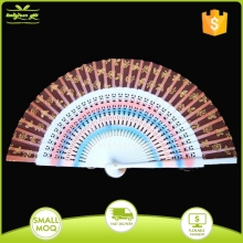23cm antique Wooden Spanish handheld folding Fans for decoration