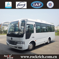Dongfeng 6.6M new design coach bus new colour