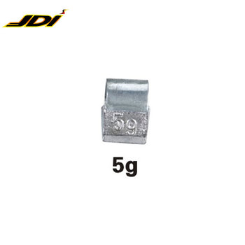 JDI-CSPB005 Popular 5g Pb Clip on Wheel balancing weight