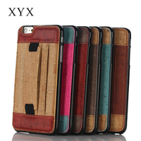 Soft touch handmade mobile phone accessory cell leather phone flip case cover for htc one m9