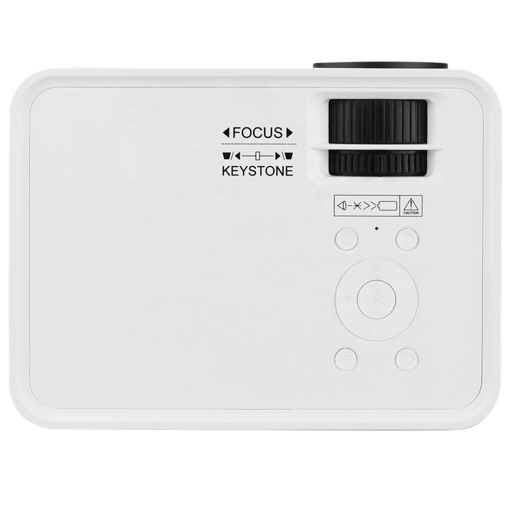New Product <strong>Battery</strong> Powered Portable Mini Projector With Speaker