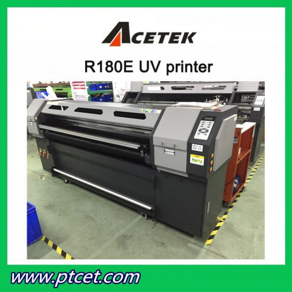 R180E Wide Format DX5/DX7/Ricoh UV Flatbed Printer