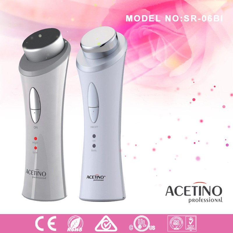 Private label multifunctional ion deep cleansing skin beauty machine for face slimmer