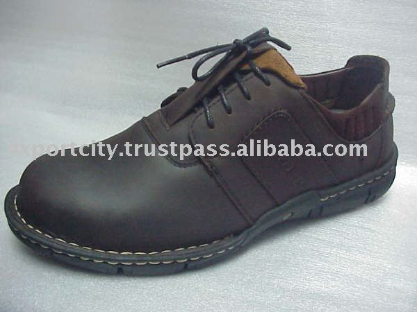 Men leather shoes leather footwear FE09