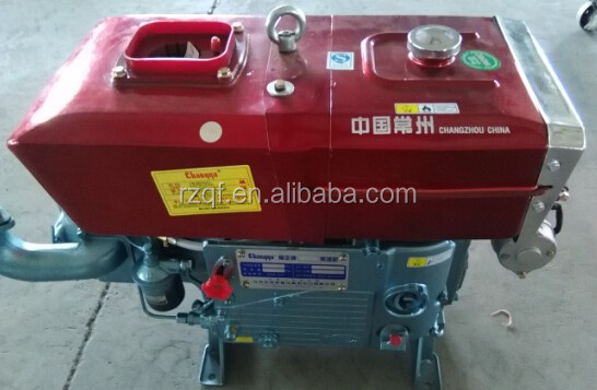 High quality water cooled single cylinder 4 Stroke 15hp jiangdong diesel engine