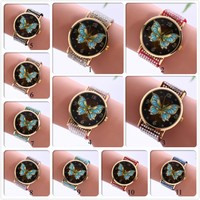 Wholesale Butterfly Surface Wrist Watch For Lady From China Factory Watch