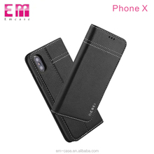 GEBEI brand leather tpu case for iphone 6 magnetic flip leather cover for iPhone 6 6plus shell