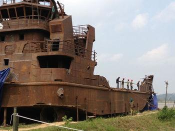 Landing Craft For Sale - Buy Crane Landing Barge Product on Alibaba.com