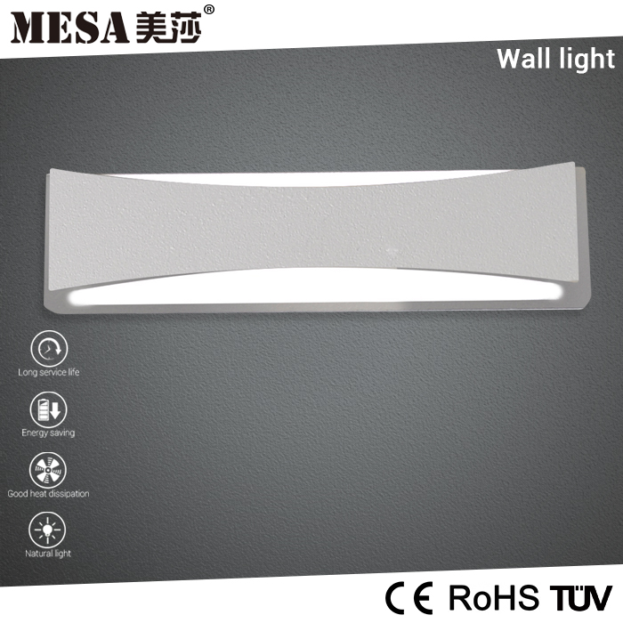 Long warranty fashionable washroom power outlet hotel wall lamp