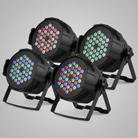 DMX-512 COLOR CHANGE DJ LIGHTING HOME PARTY 8PCS 36 X 3W LED PAR STAGE LIGHT
