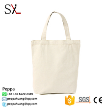 High Quality Small White Waxed Canvas Lunch Bag