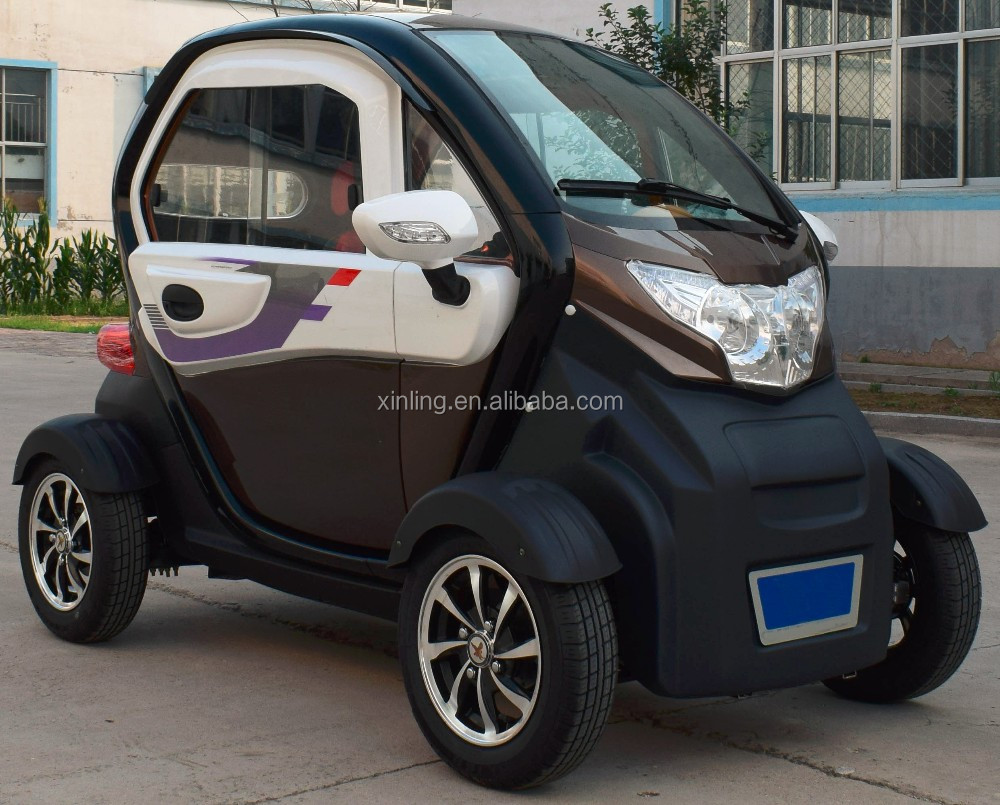 powerful electric car with big power, cute outlook