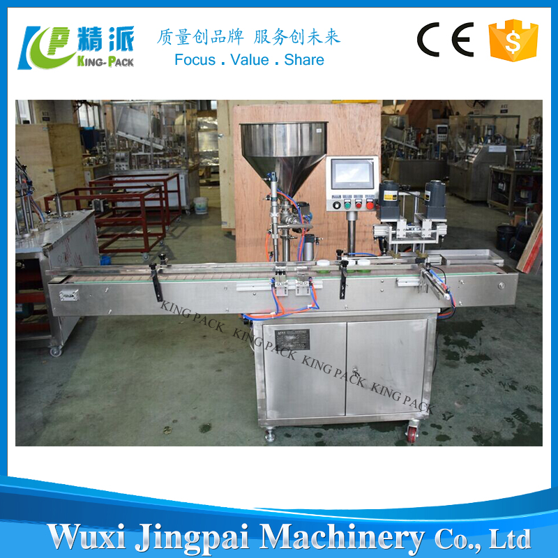 Automatic Cosmetic Lipstick Products Filling Capping Machine