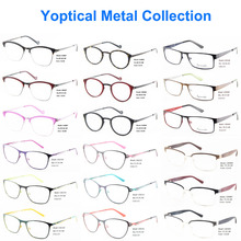 Wholesale Eye Wonder Men Women Stainless Steel Metal Optical Frames Oculos de grau lentes de sol
