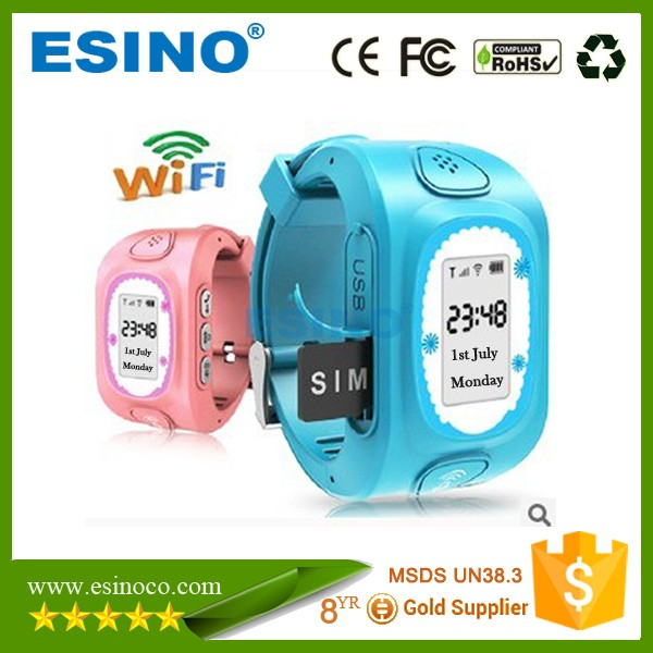 GPS Kids Tracker Watch Kids Smart Watch Phone SOS Call
