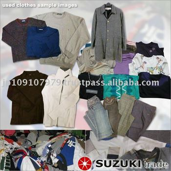 Winter Mixed Used Clothes clothing used
