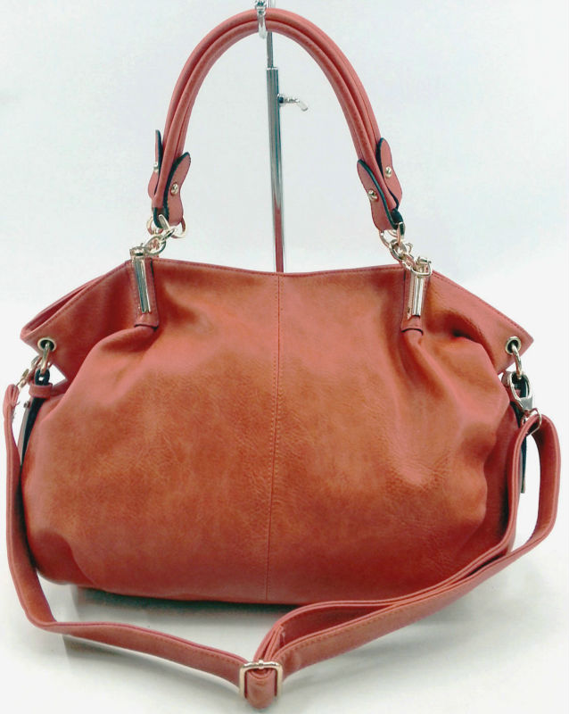 2014 new style pu leather lady hangbag guangzhou bags manufacture