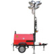 4*1000W diesel hybrid light tower