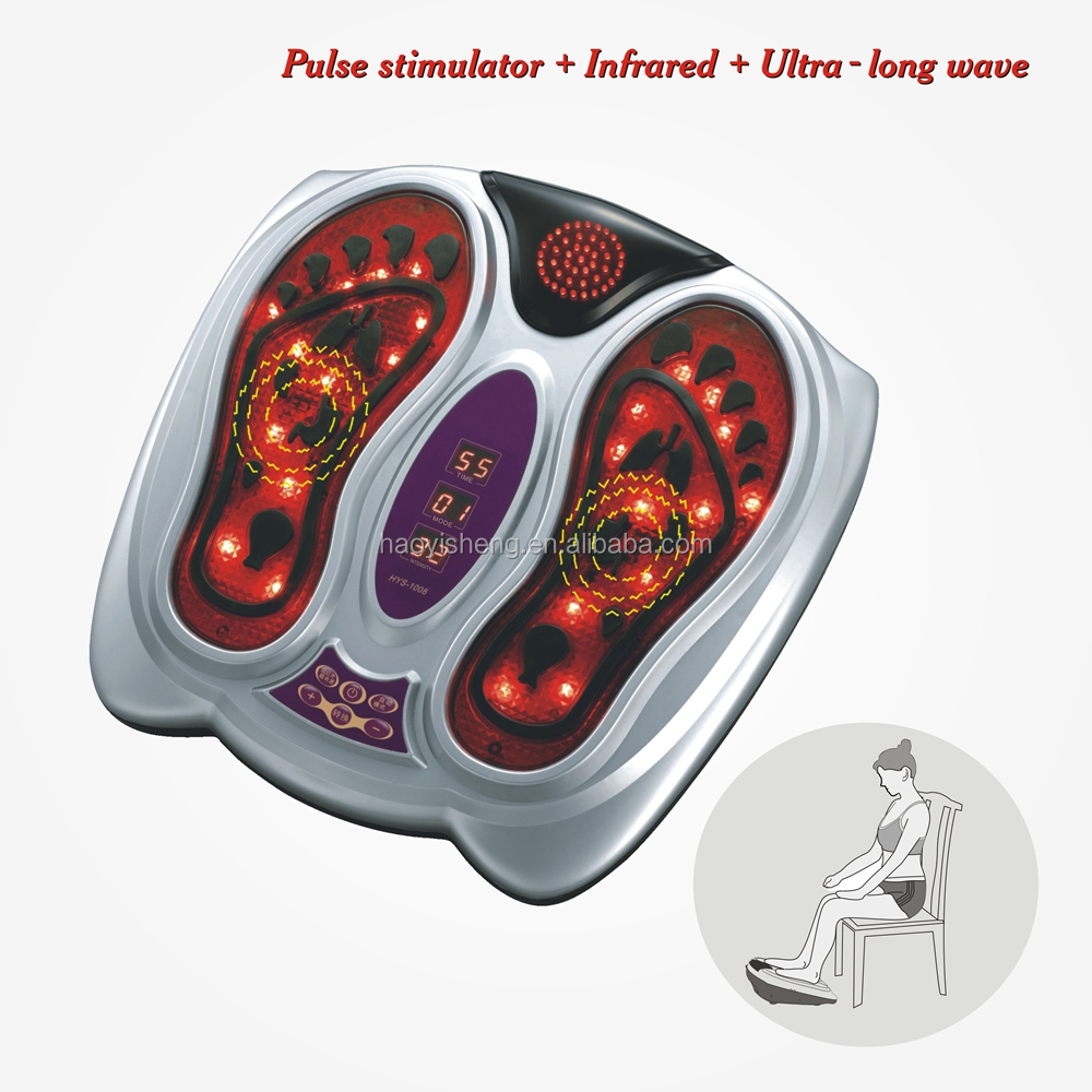 Remote control Infrared Infrared TENS electric foot massager