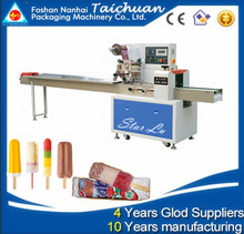 High Speed Ice Lolly Flow Pack Machine