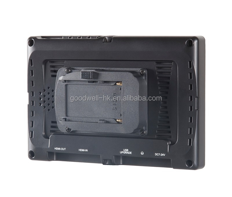 Alibaba Recommend Gold Supplier 7 Inch Video Camera Stabiliser with 4K UHD Input Output Monitor 1920x1200 IPS Panel
