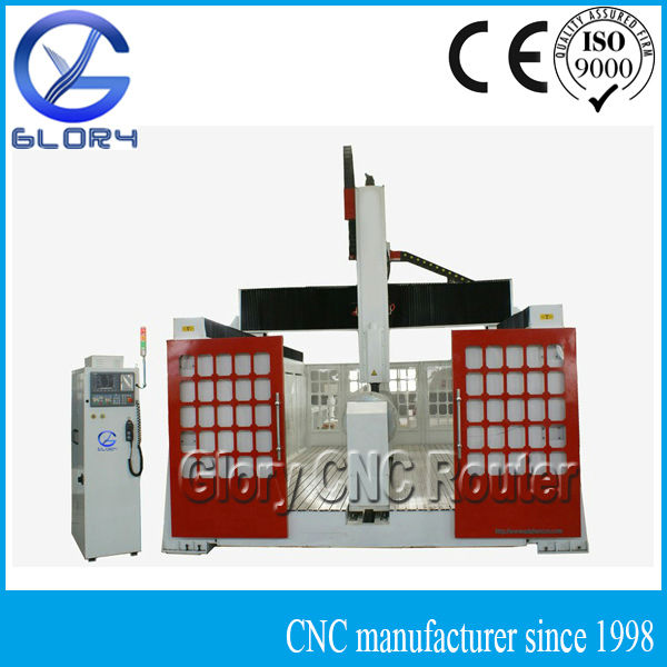 3D CNC Foam/Wood Carving machine for Mould Making