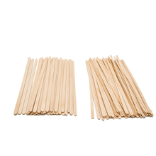 Customized size disposable wood coffee stirrers