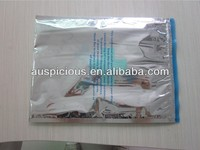 Foil insulated hot food delivery bags hot chicken bags