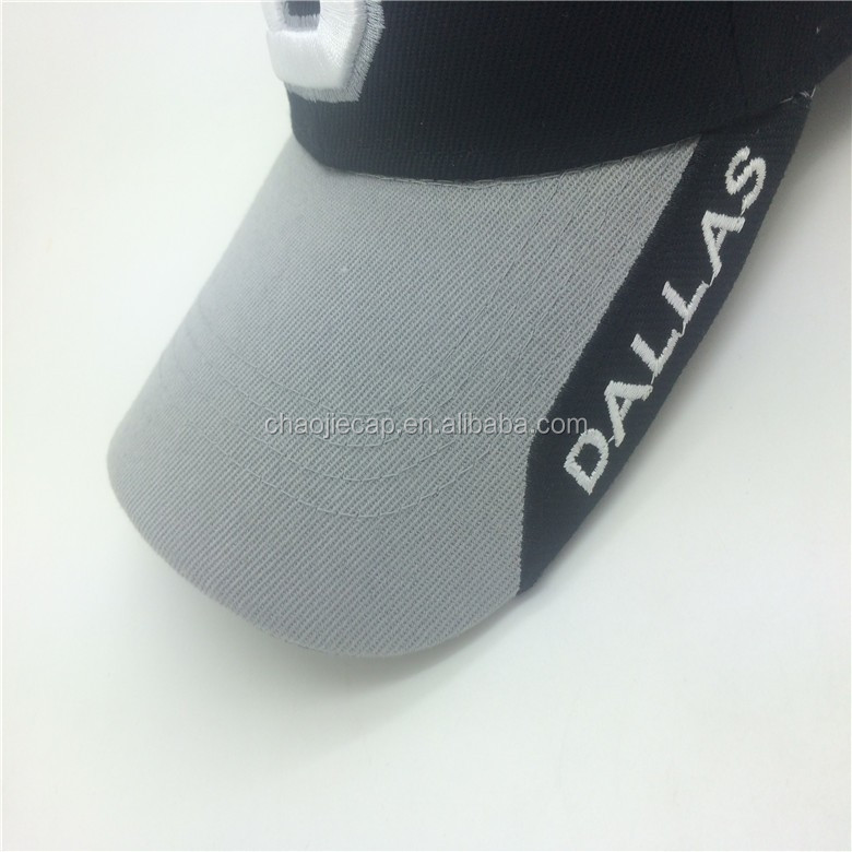good quality city sport cap with embroidery