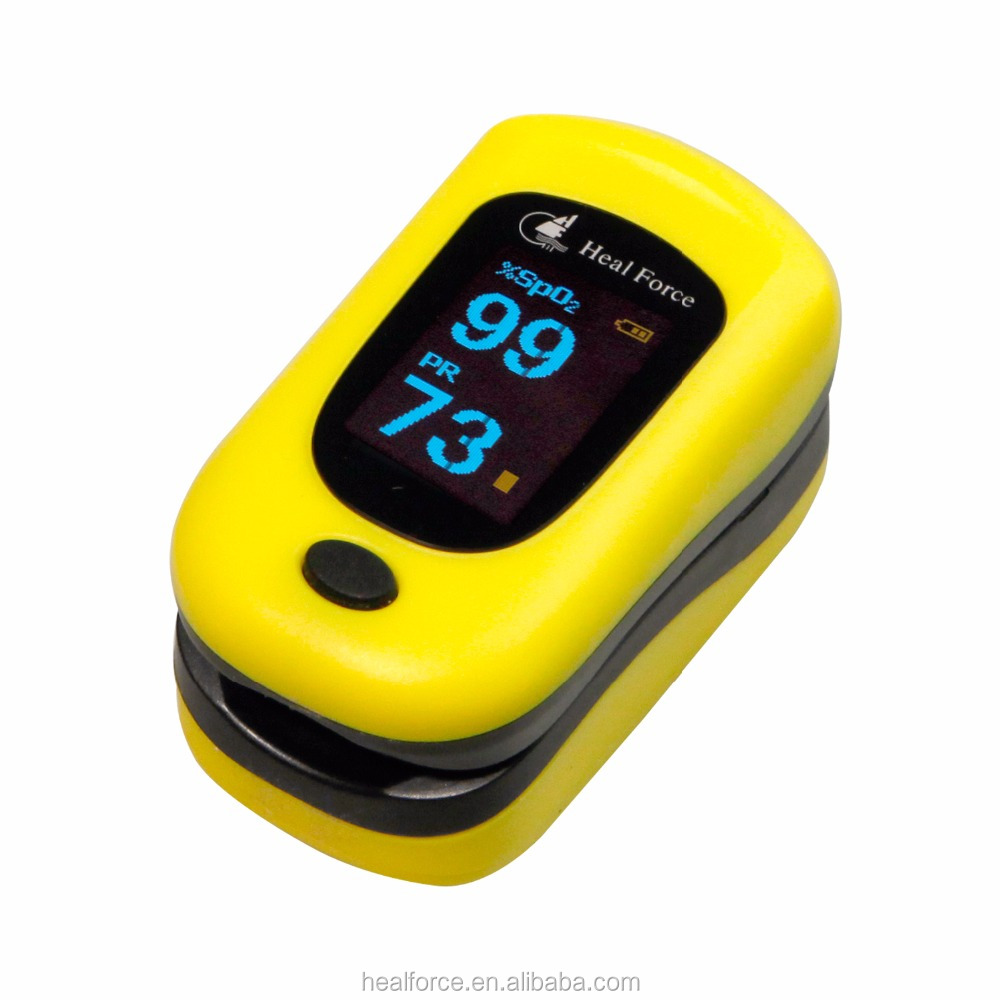 Heal Force Oximeter Prince-100B Lung Ios Oxygen saturation device