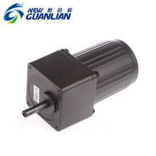 220v single phase electric ac gear motor 110v low rpm high torque asynchronous motor