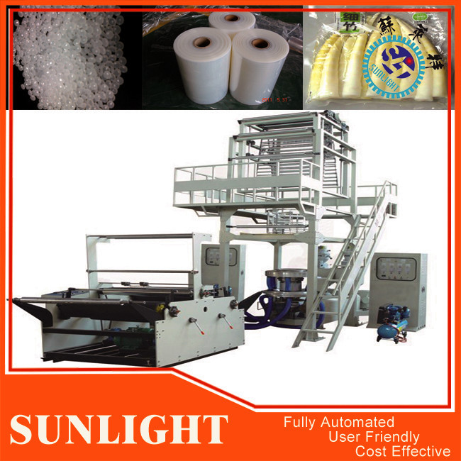 Monolayer Blown Film Extrusion Machine