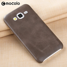 Mocolo High Quality Customized LOGO PU Leather Mobile Phone Case for Samsung Galaxy J5 Mobile Phone Protector Cover