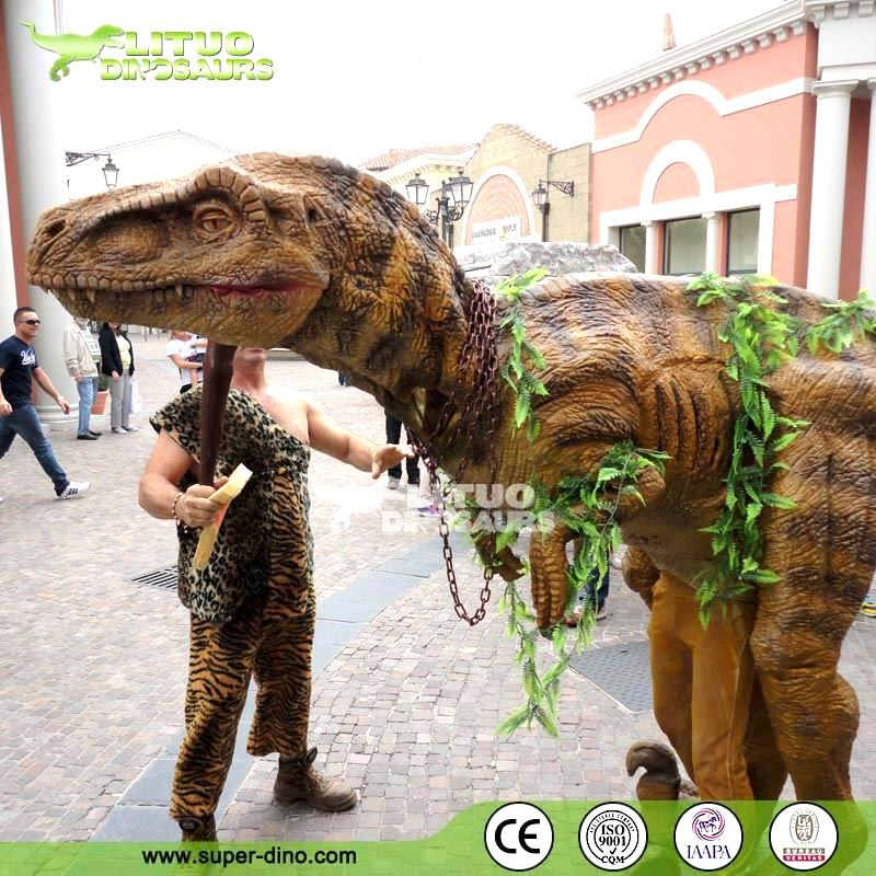 Walking with Dinosaur Costume for Adults