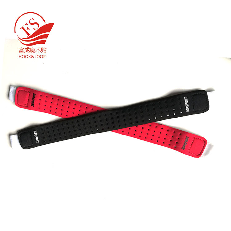 Latest designs neoprene diving watch tape strap with hook loop fastening