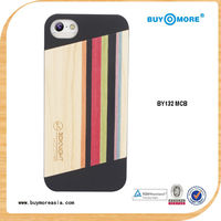 Smart wood phone covering for iphone5s wood phone covering