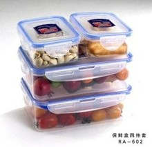 Micowave insulated cracker food storage container