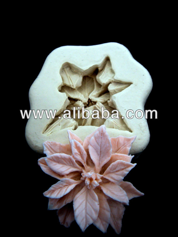 Sugarcraft silicone mold Fondant mould Flower#0001