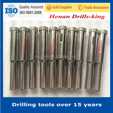 Glass drilling use and center drill bit type electroplated diamond core drill