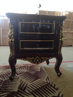 antique Wooden 2 drawer night stand/Bedside table /End table
