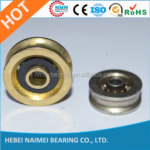 Stainless Steel Wire Guide Bearing Rollers Straightening Bearing Rollers