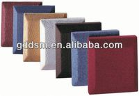 fiberglass sound absorption coefficient acoustic wall panel