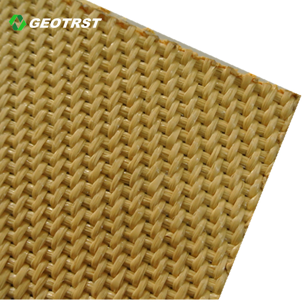 PP/PET polypropylene polyester woven geotextile tube price for sand bag coast protection