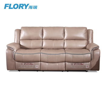 genuine leather recliner sofa set cheap price