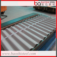 Baoshi Steel heat proof external 22 gauge corrugated roof sheet galvanized steel