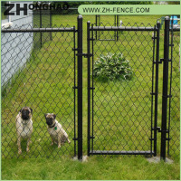 High quality professional latest design chain link fence for dog kennel