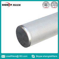 SS Sintered Wire Mesh Candle Filter for sand control