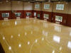 Synthetic wood texture plastic basketball court floor